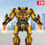 机器人疯狂打击